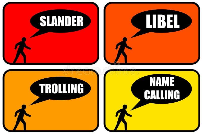 Download Bad behavior stock illustration. Image of arrogant, annoying - 33596040