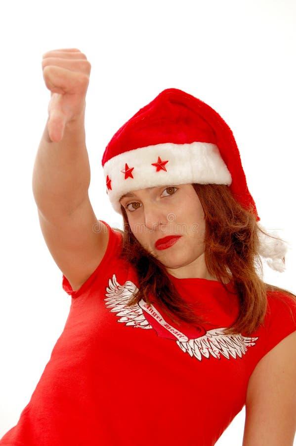 Download Bad christmas stock image. Image of down, girl, isolated - 3376291