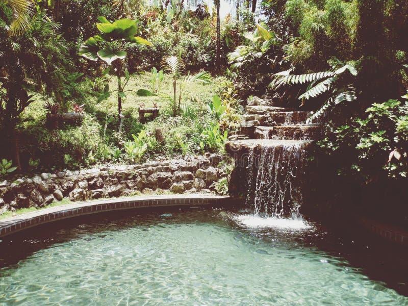 Bad Costa Rica arkivfoton