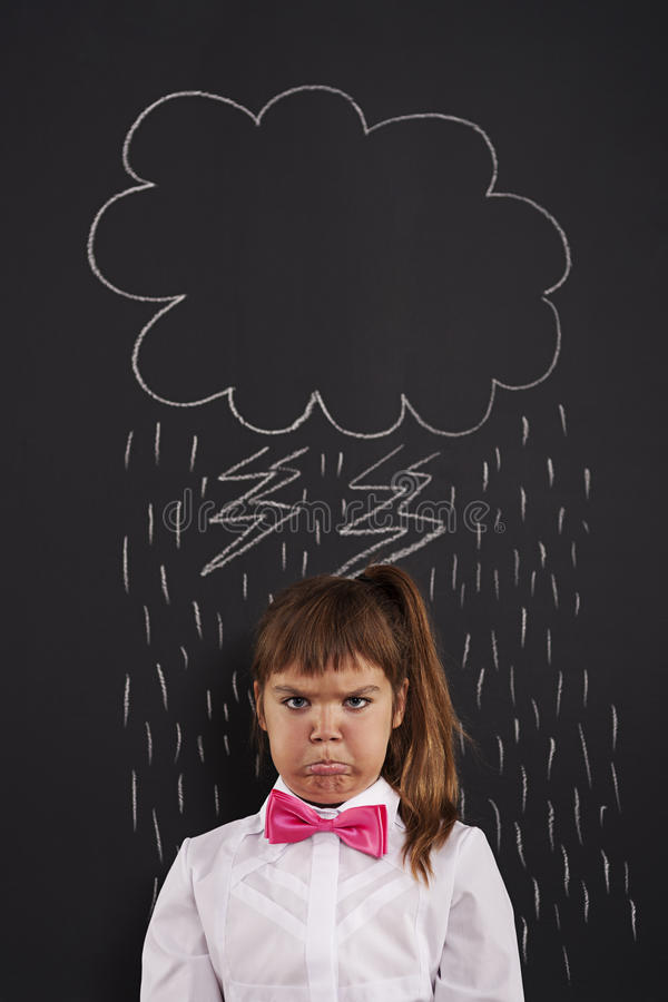 Bad day. I have very bad day stock image
