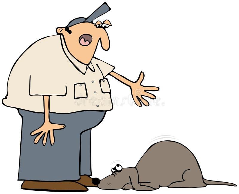 Download Bad Dog stock illustration. Illustration of canine, scold - 23222177