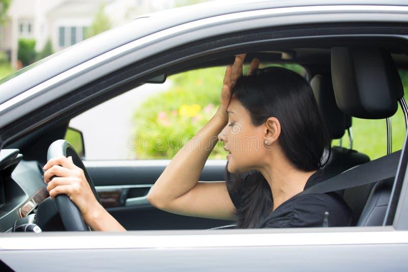 Bad driving stock image
