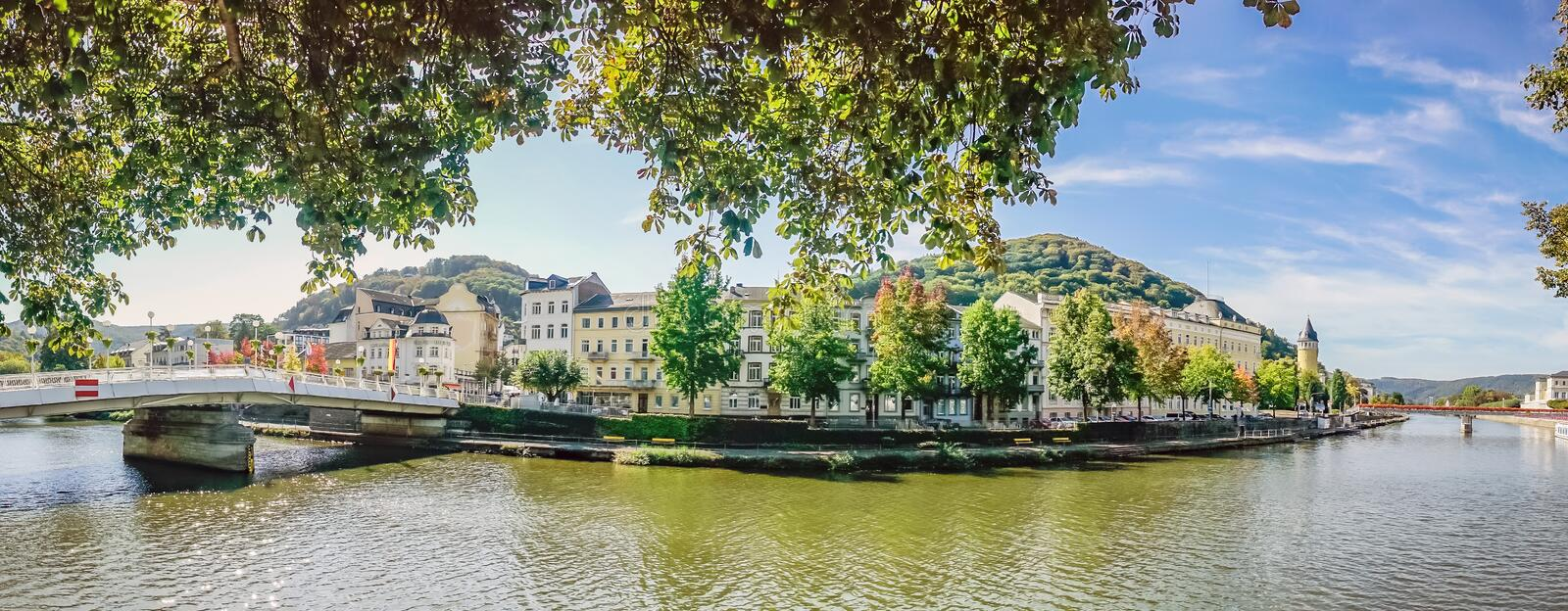 Bad Ems in Germany royalty free stock photo