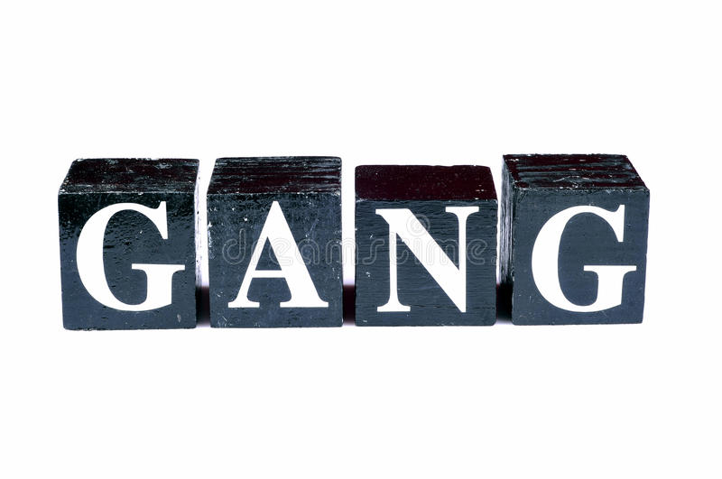 Download Bad gang stock image. Image of isolated, lighting, alphabets - 10486027