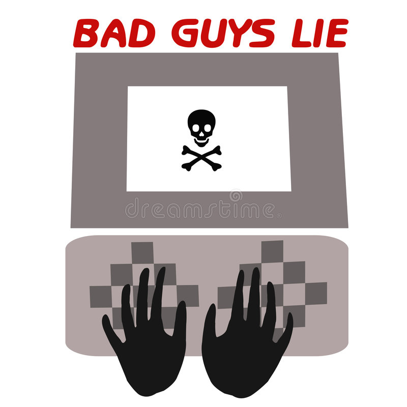 Download Bad Guys Lie Royalty Free Stock Photography - Image: 2267887
