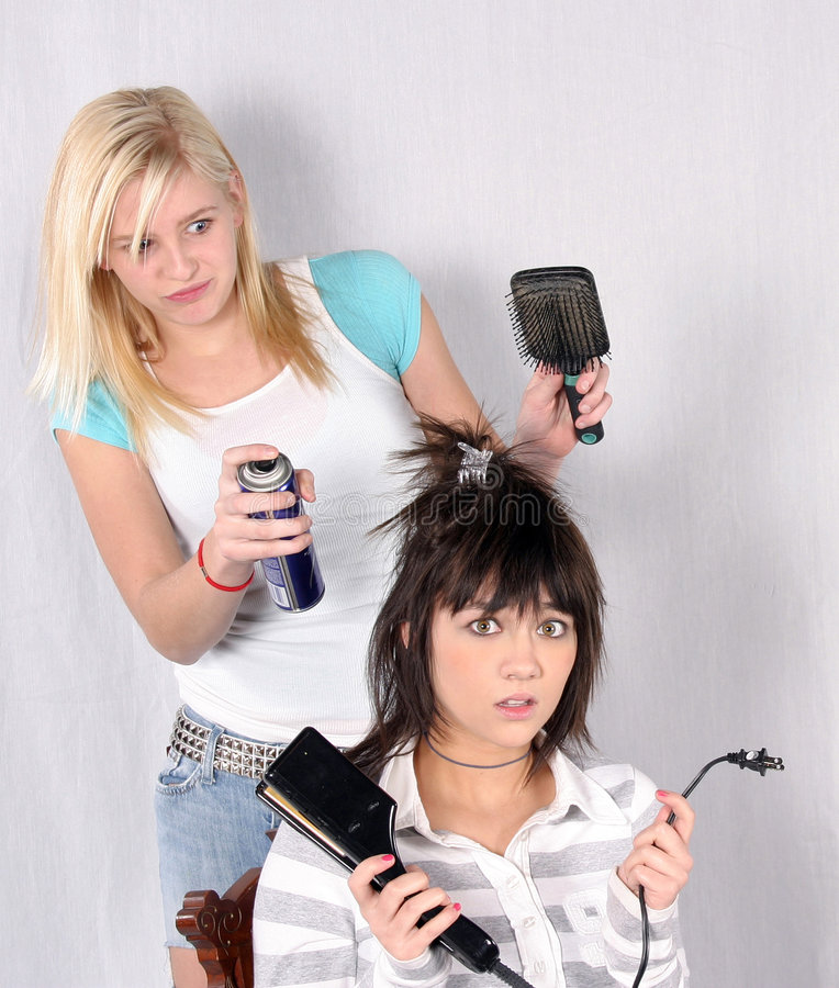 Bad Hair Day royalty free stock image