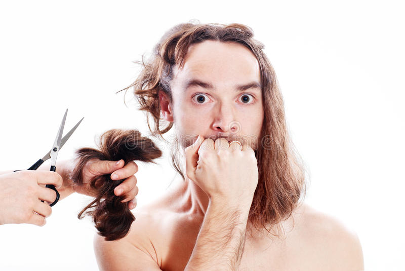Download Bad haircut stock photo. Image of fright, brunette, clip - 17903372