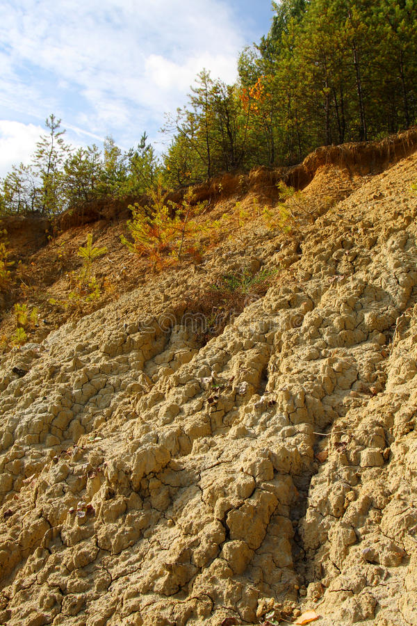 Download Bad land stock image. Image of crannied, dehydrated, mire - 11253107