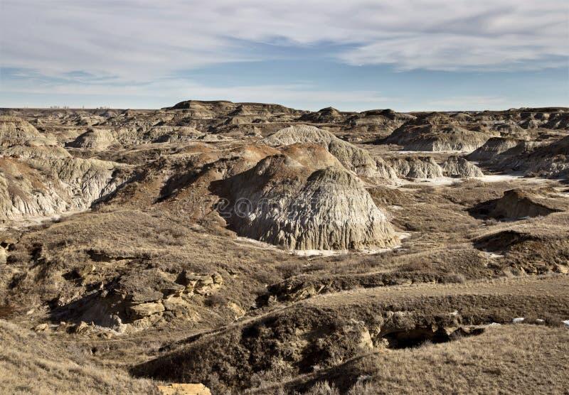 Bad-lands Alberta photos stock