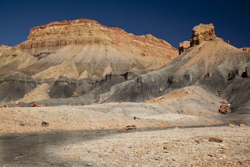 Bad-lands de désert de l'Utah photo libre de droits