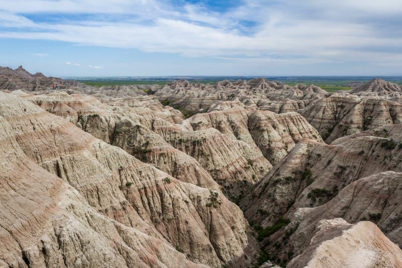 Bad-lands, le Dakota du Sud photographie stock libre de droits