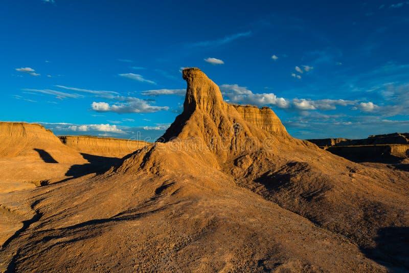 Bad-lands solitaires parc national, le Dakota du Sud de pilier photo libre de droits