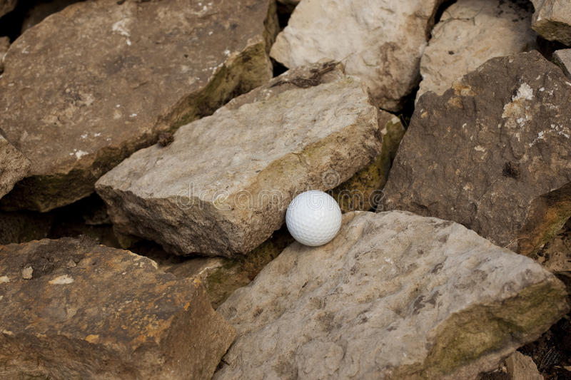 Download Bad lie 3 stock photo. Image of ball, rough, rocks, adversity - 14927184