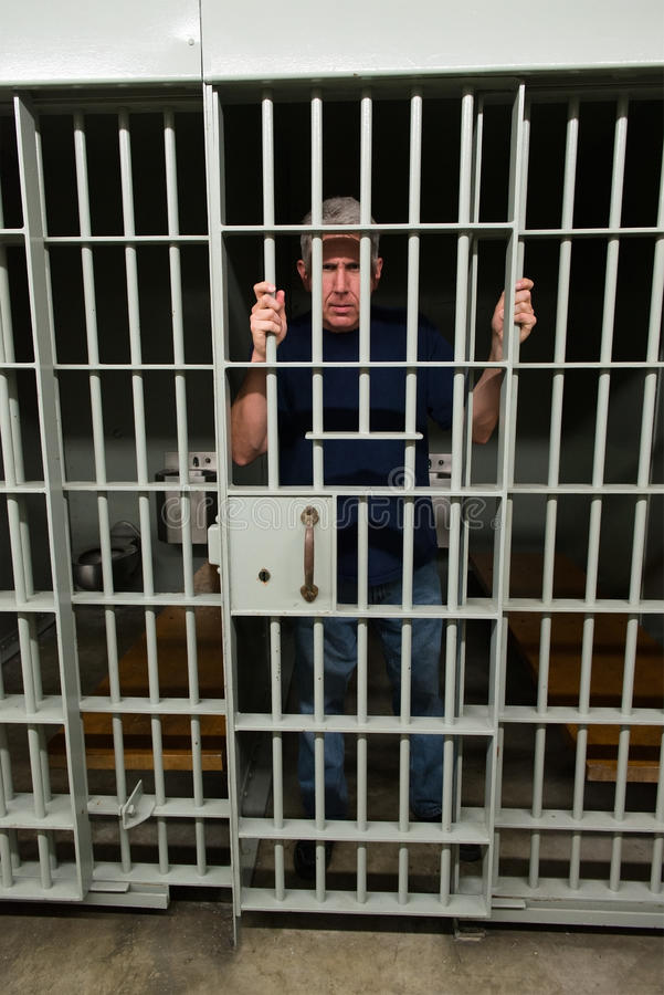 Bad Man, Jail, Prisoner, Convict royalty free stock photo
