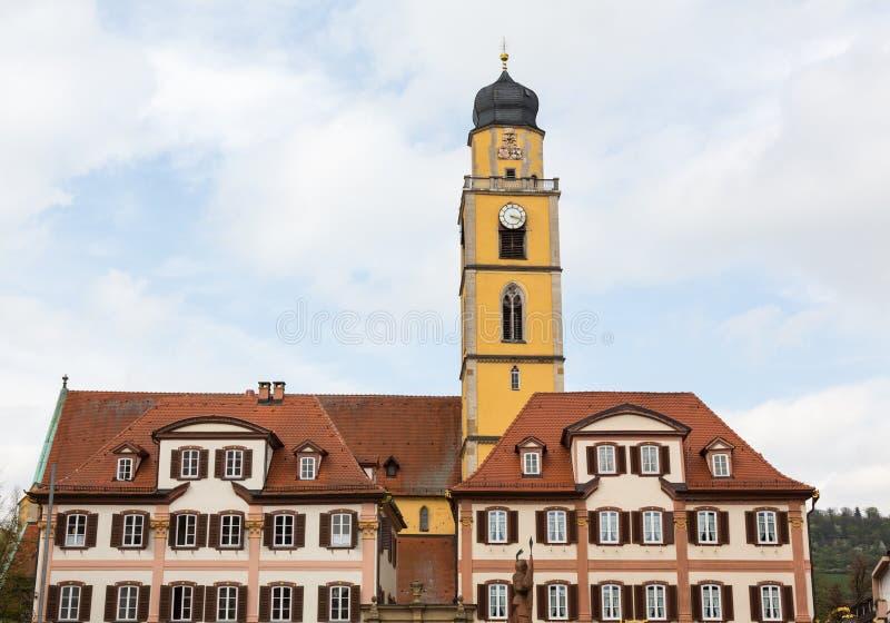 Bad Mergentheim in Deutschland stockfoto
