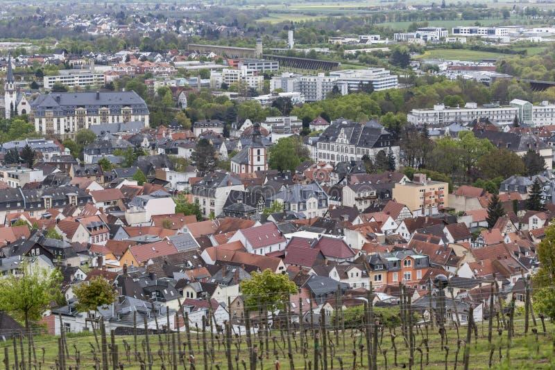 Bad Nauheim Hessen Germany From Above Stock Image Image - Hessen germany