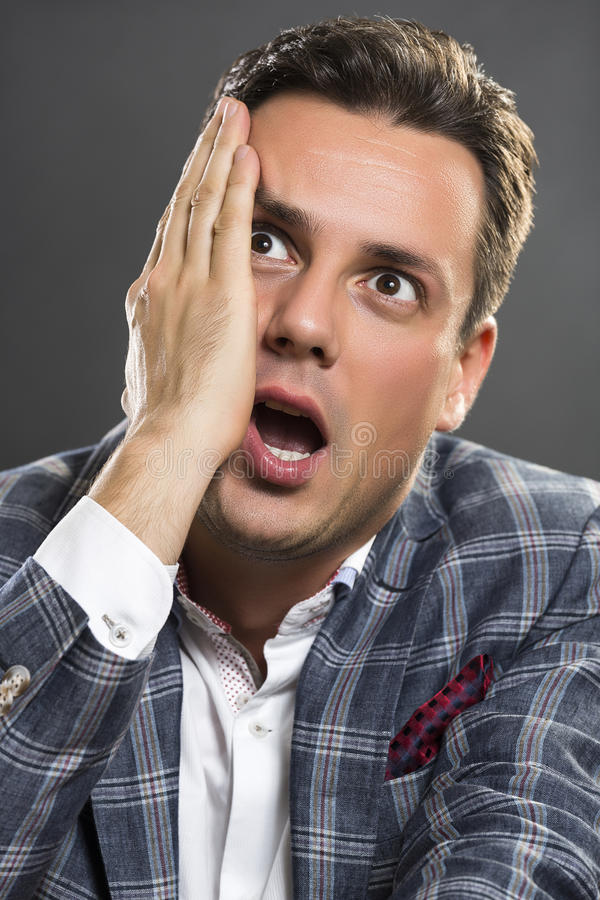 Bad news! stock images