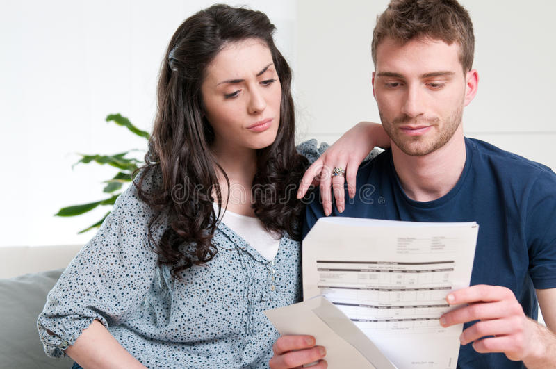 Download Bad news on letter stock photo. Image of budget, casual - 19717278