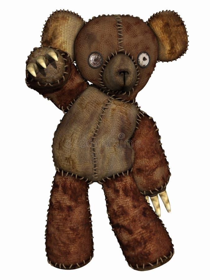 bad niedźwiedź ilustracji