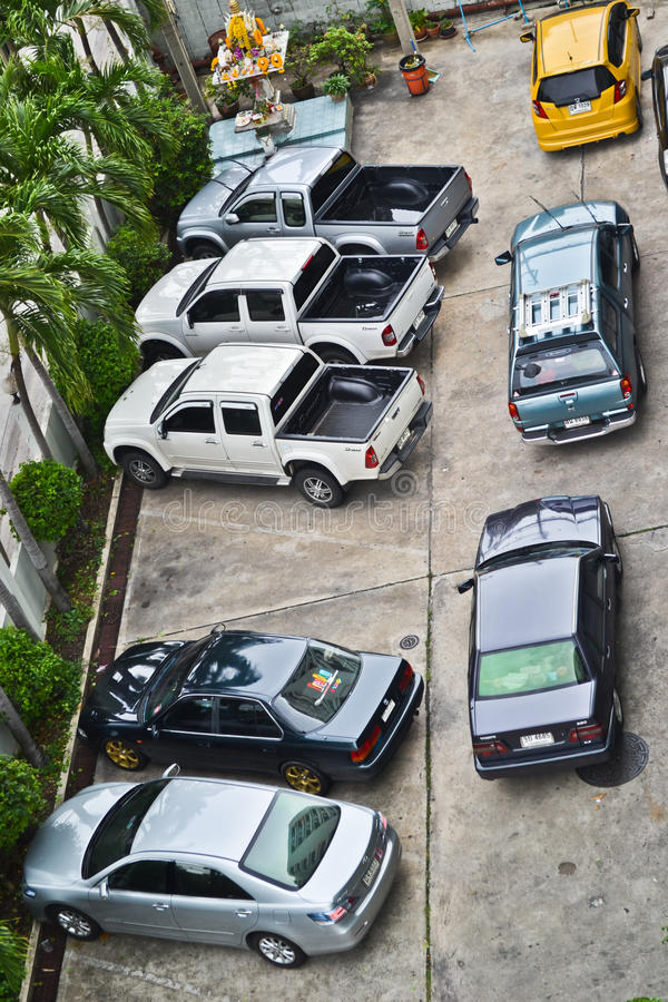 Download Bad parking editorial stock photo. Image of block, chaos - 25946433