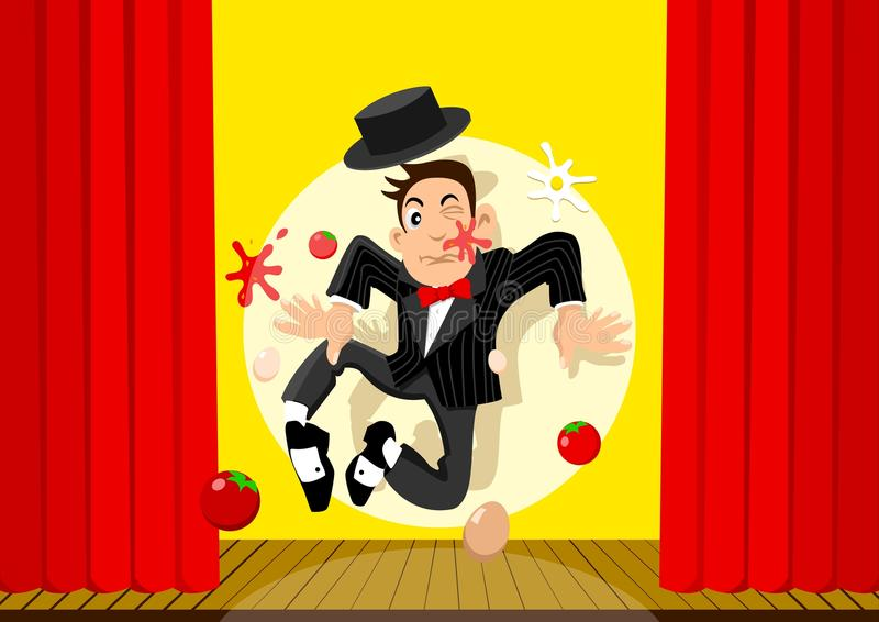 Download Bad Performance stock vector. Image of perform, illustration - 15279903