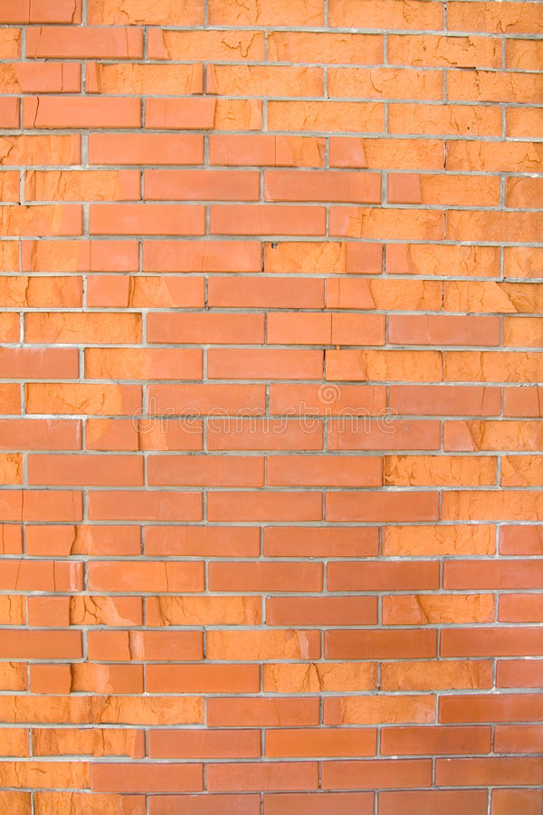 Bad quality brick wall. Texture royalty free stock images