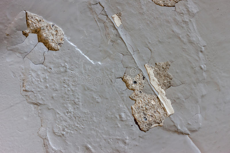 Bad quality painted cracked concrete floor. Bad quality painted grey cracked concrete floor background royalty free stock images