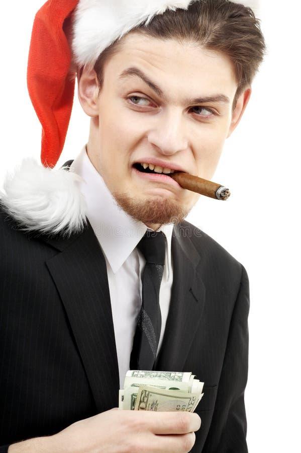 Download Bad santa stock image. Image of deal, crazy, businessman - 3708127
