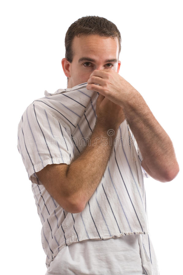 Bad Smell stock image