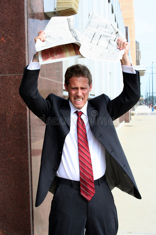 Download Bad Stock Day stock image. Image of boss, deal, crash - 1119655