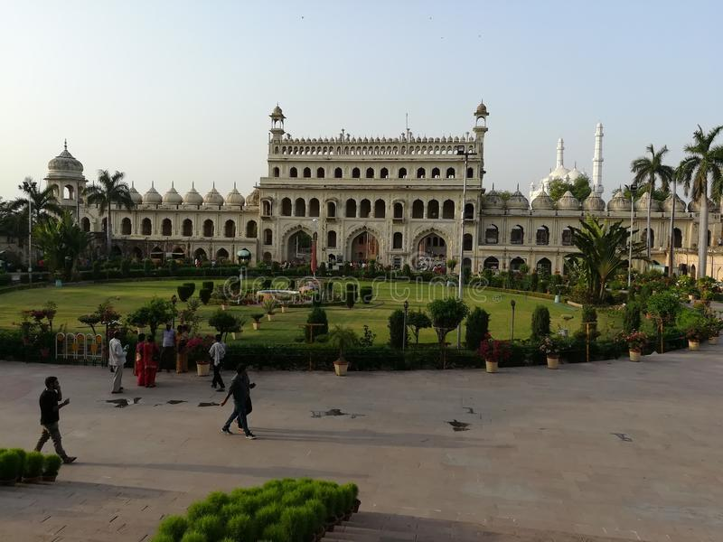 Bada-imamabada Lucknow lizenzfreie stockfotografie