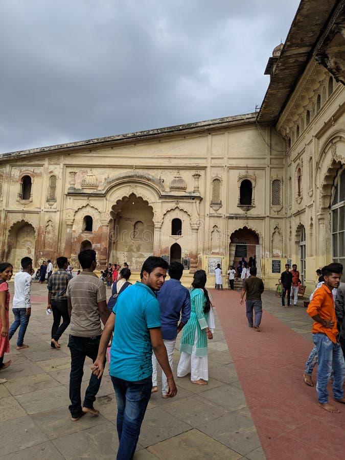 Bada imambada, bauli, roomi brama, bhoolbhalaiya, zegarowy wierza obrazy royalty free