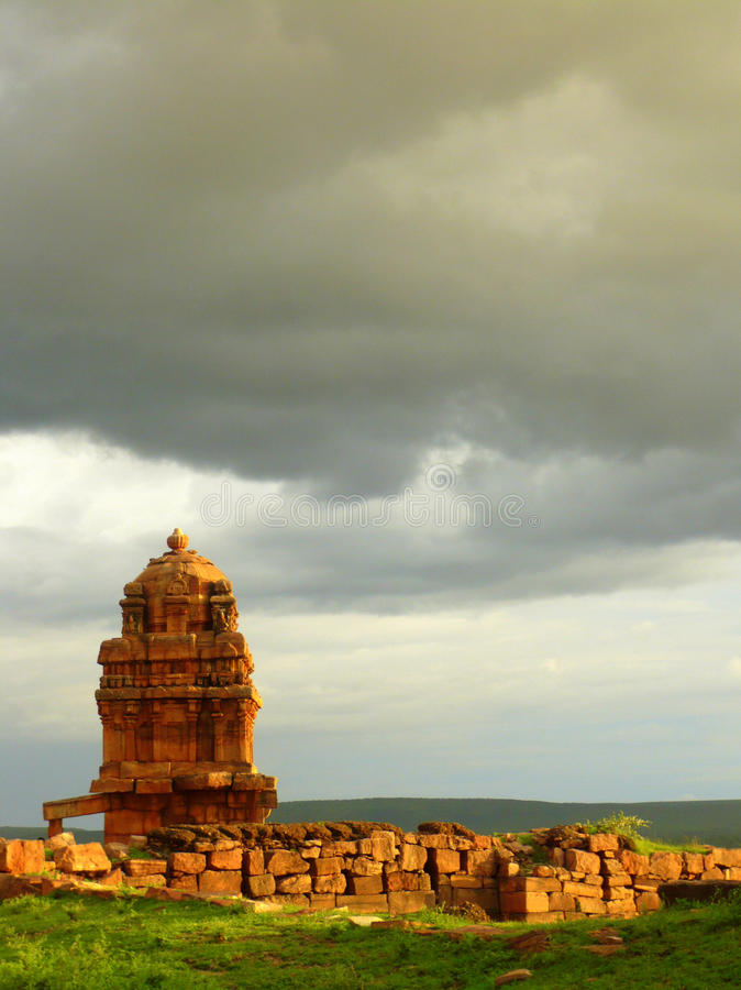 badami świątynia obrazy royalty free