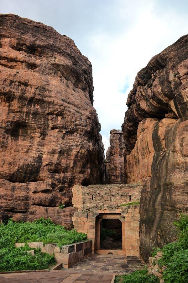 Badami em india fotografia de stock