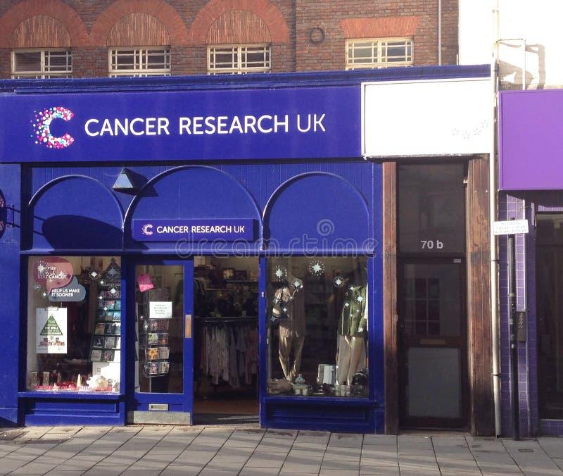 Badania nad rakiem dobroczynności sklep obrazy stock