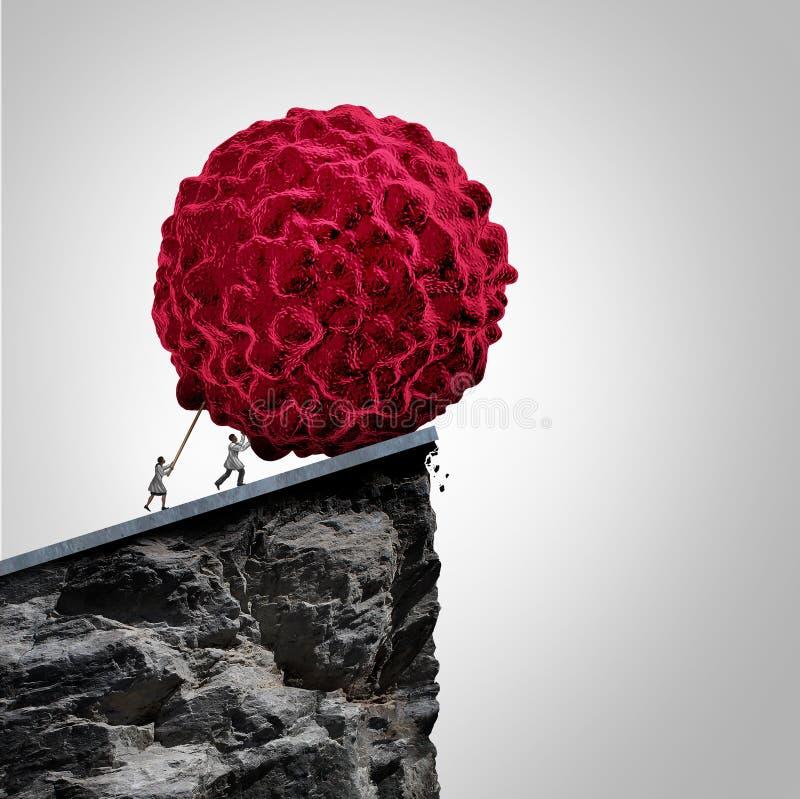 Badania Nad Rakiem I onkologia royalty ilustracja