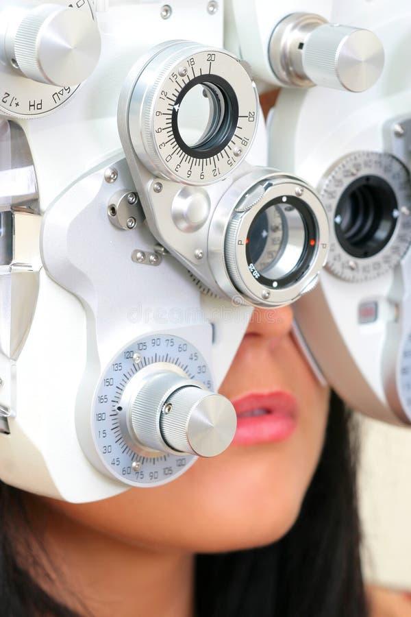 badania wzroku zdjęcie stock