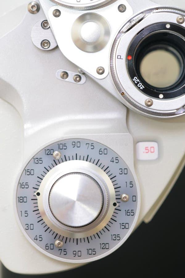 badania wzroku urządzenia obraz stock