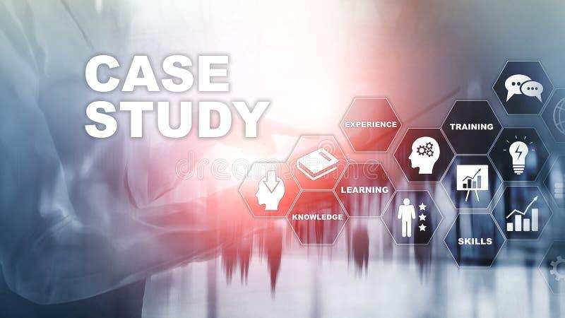 Badanie Przypadków Biznesu, interneta i tehcnology pojęcie, fotografia royalty free