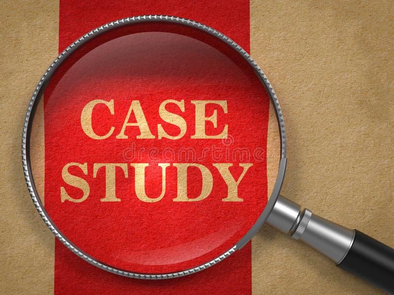 Badanie Przypadków - Powiększający - szklany pojęcie. zdjęcia royalty free
