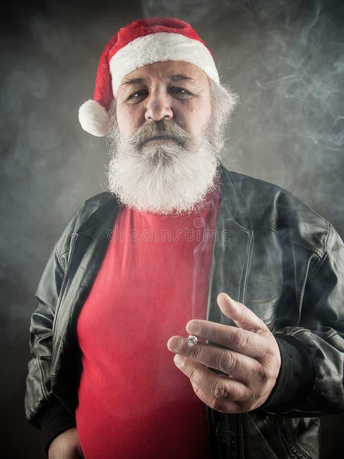 Badass grincheux Santa Claus photos stock