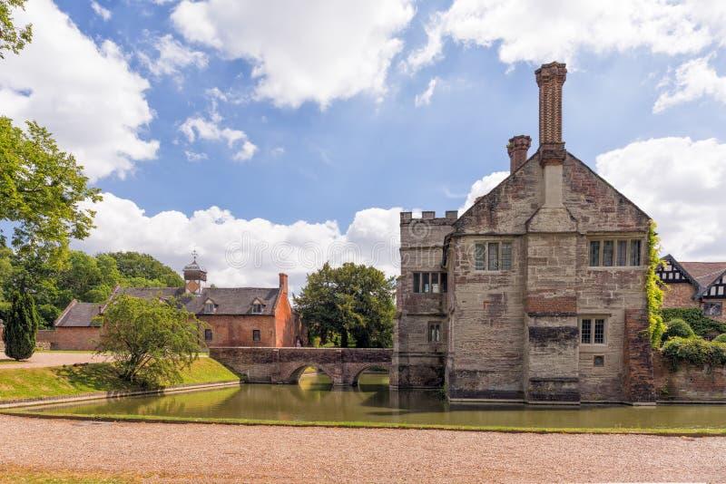 Baddesley Clinton Fortified Manor House fotos de stock royalty free