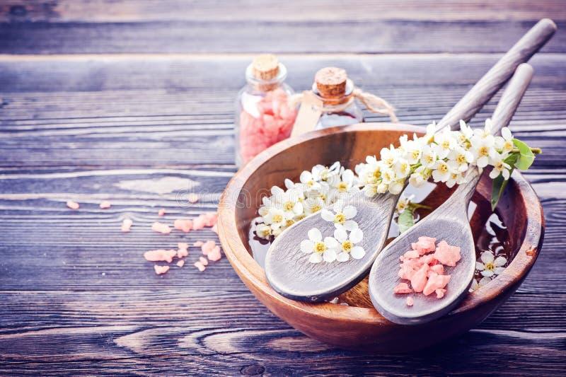 Badekurort, Körperpflege lizenzfreies stockbild