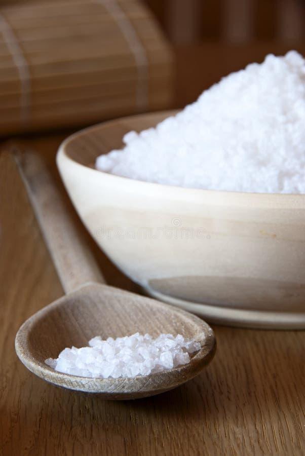 Badekurort-Salz stockfoto