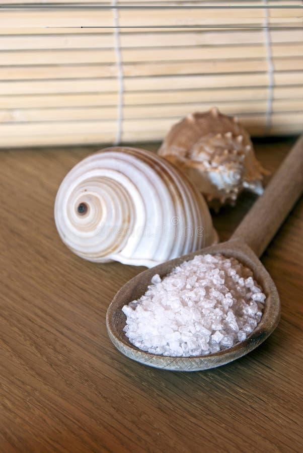 Badekurort-Salz Stockbild