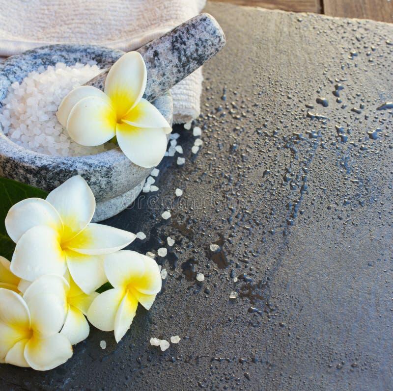Badekurort und Wellneßeinstellung lizenzfreies stockfoto