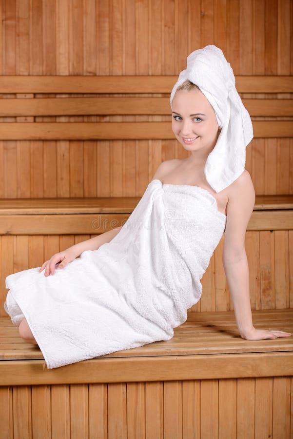Badekurort und Wellness lizenzfreies stockbild