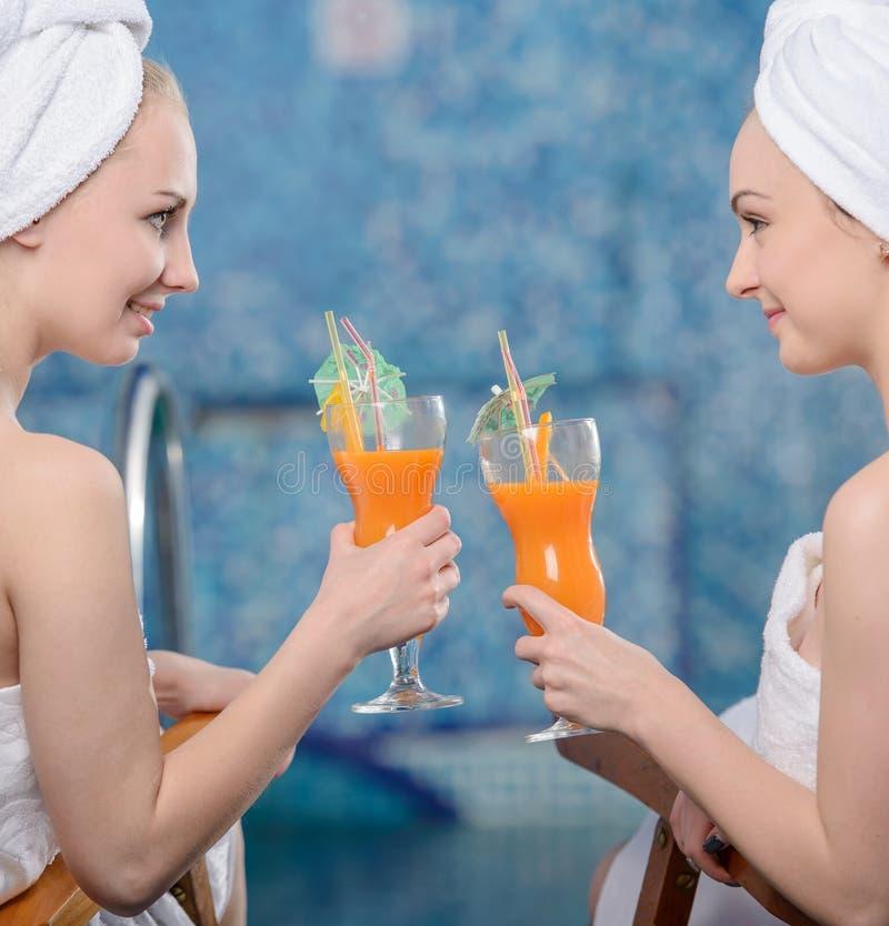Badekurort und Wellness stockbilder