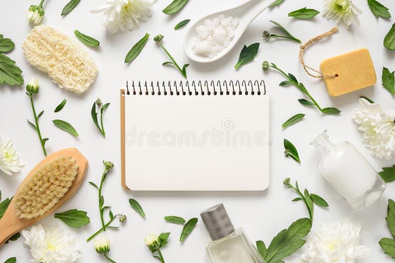 Badekurortblumenhintergrund lizenzfreies stockbild