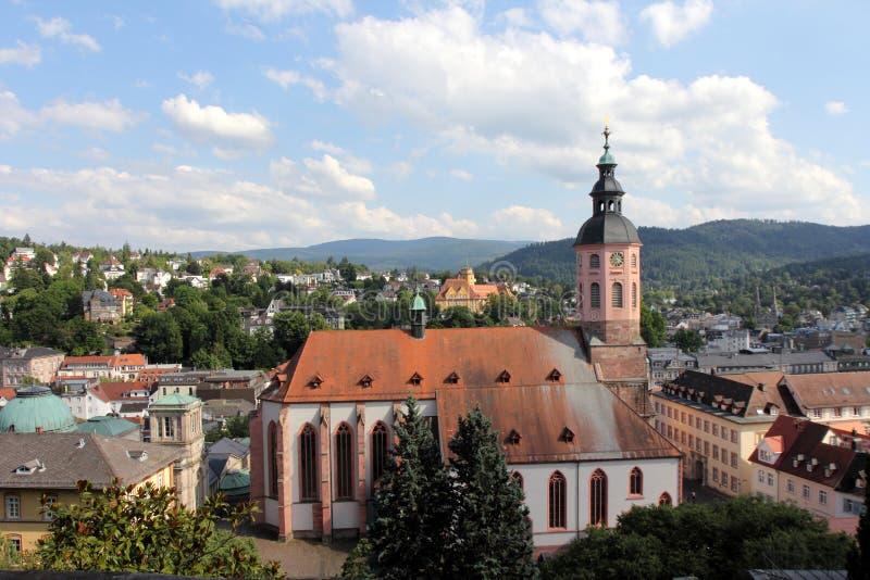 Baden-Baden photo libre de droits